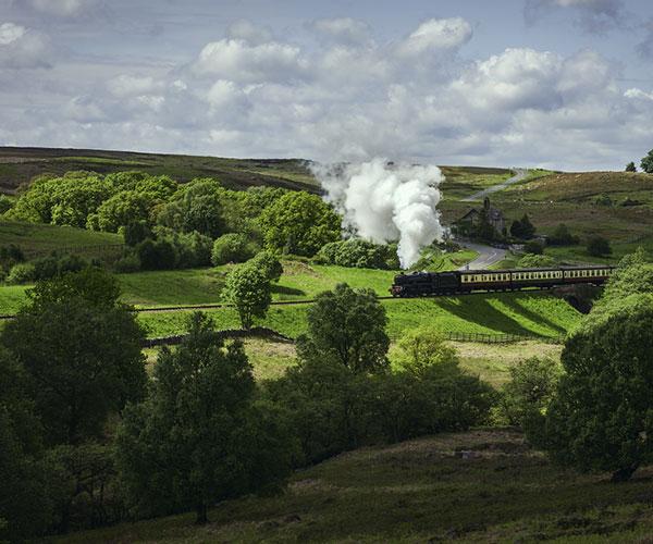 Goathland railway or Hogwarts Express