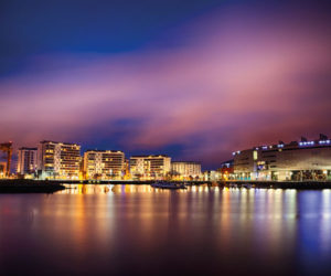 City of Belfast by night