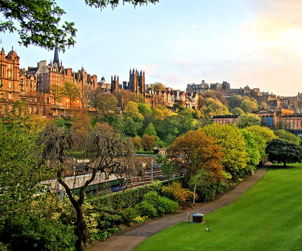 Princes Street Gardens Edinburgh