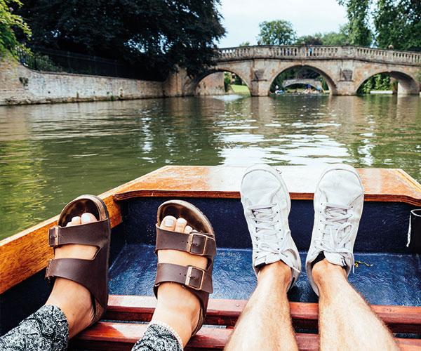 Cambridge barge